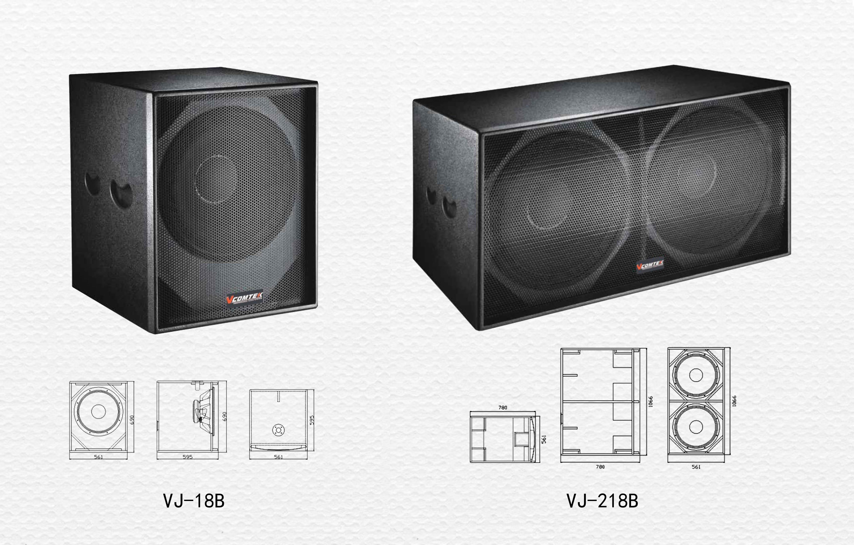 VJ系列超重低音音箱