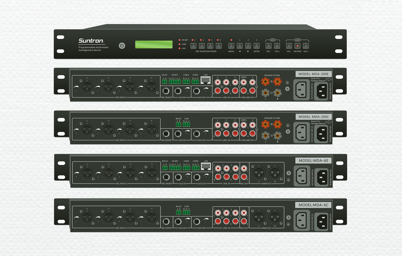 MDA系列可編程多媒體管理中心(中控主機+音頻處理)