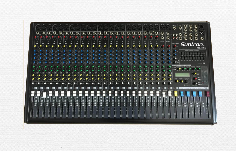 DM系列4編組4輔助帶USB調音臺