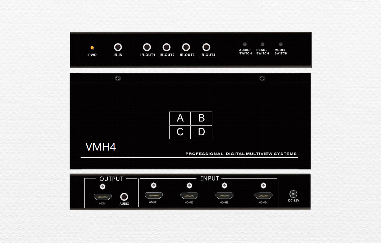 四路高清畫面分割器VMH4