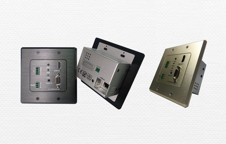 SSM矩陣配套嵌墻式HDBaseT發送面板HBT70WHT(70米)HBT150WHT(150米)