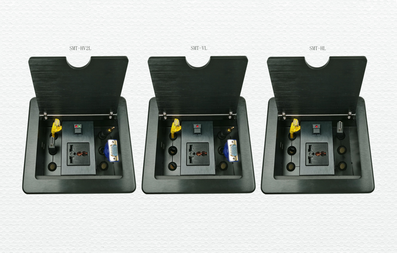 SMT-HV2L#HL#VL拉线式桌面插座