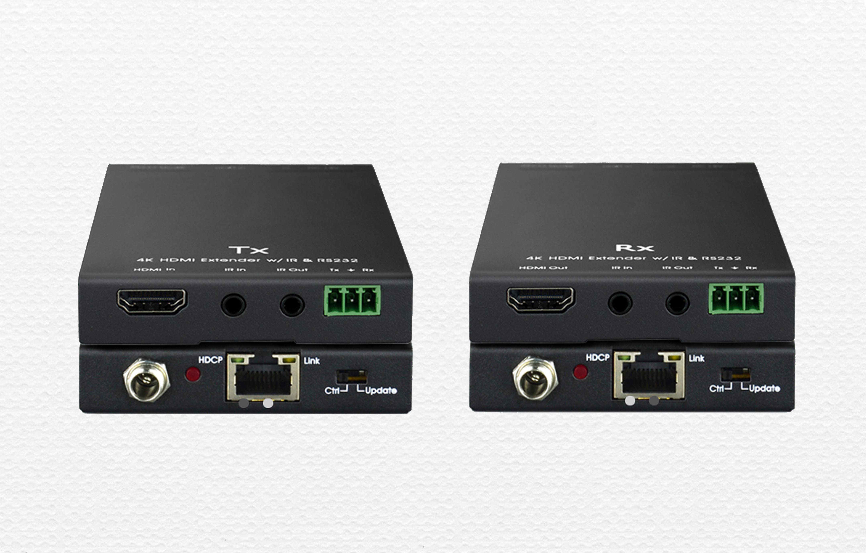 配對使用的普通網傳HDBaseT傳輸器TP511HDP/T和TP511HDP/R(70米)
