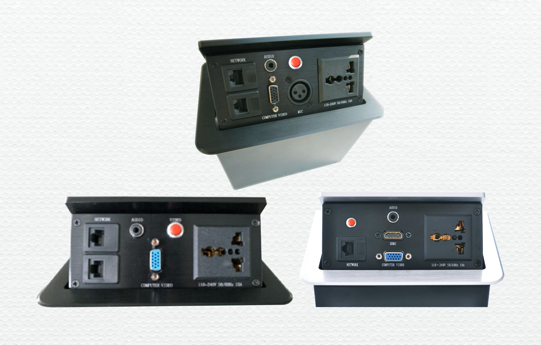 SMT-1系列桌面隐藏式智能插座