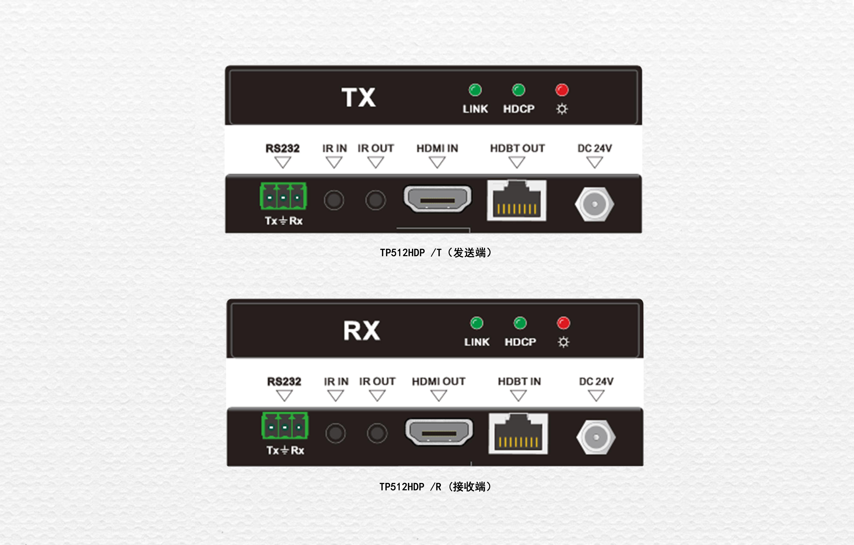 CMM矩陣配套HDBaseT傳輸器TP512HDP/T和TP512HDP/R(TP512HDPA/R)(70米)